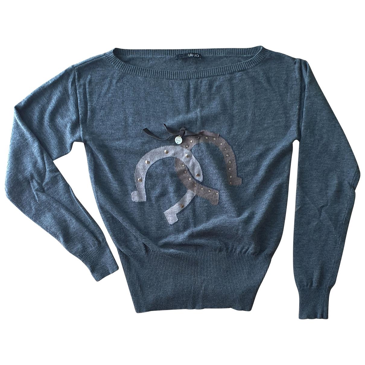 Liu.jo \N Grey Wool Knitwear for Women 46 IT