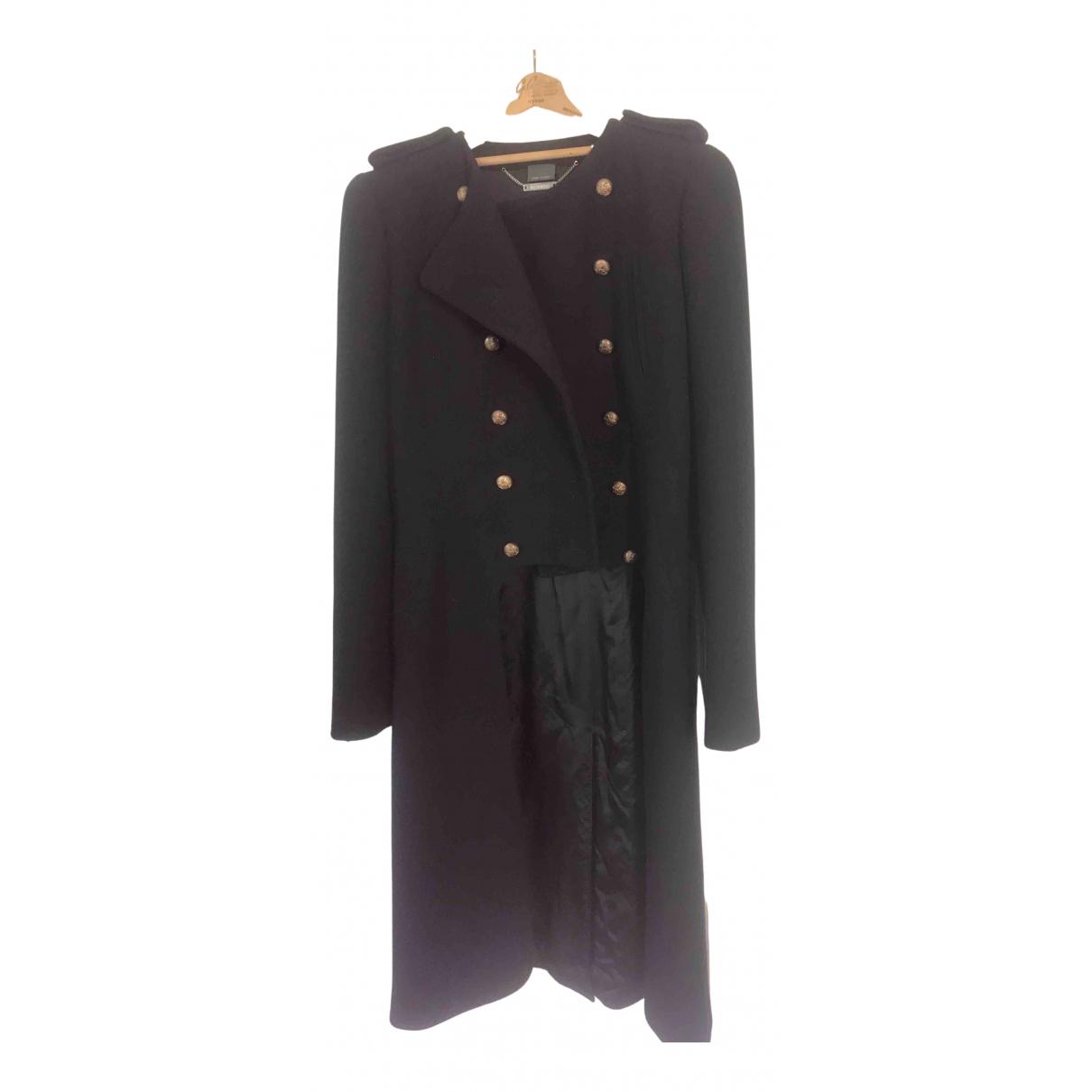 Alexander Mcqueen - Manteau   pour femme en laine - bleu