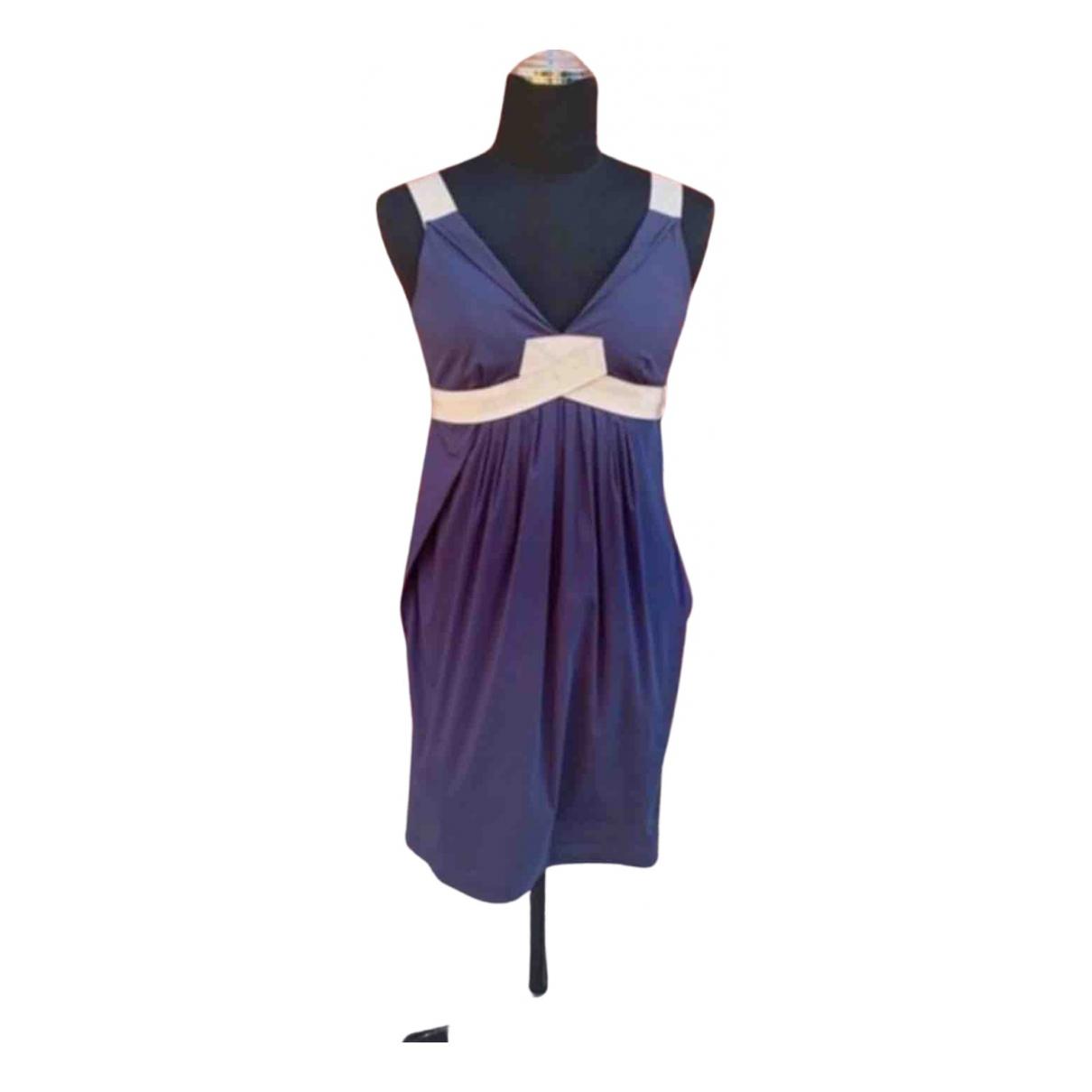 Paule Ka \N Kleid in  Lila Baumwolle