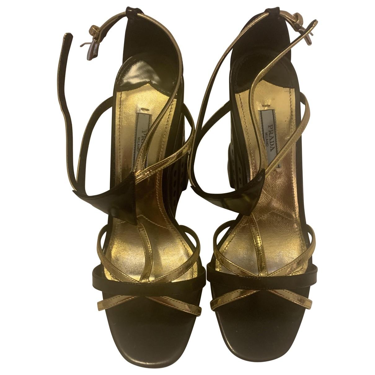 Prada - Sandales   pour femme - noir