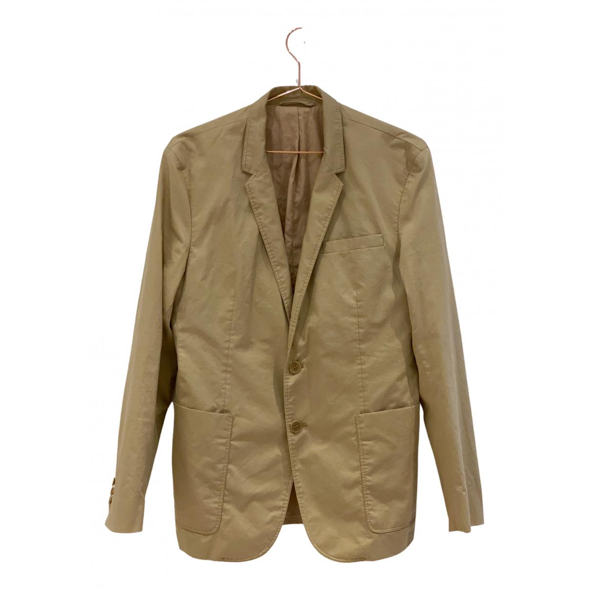 Cos \N Camel Cotton jacket  for Men 46 FR