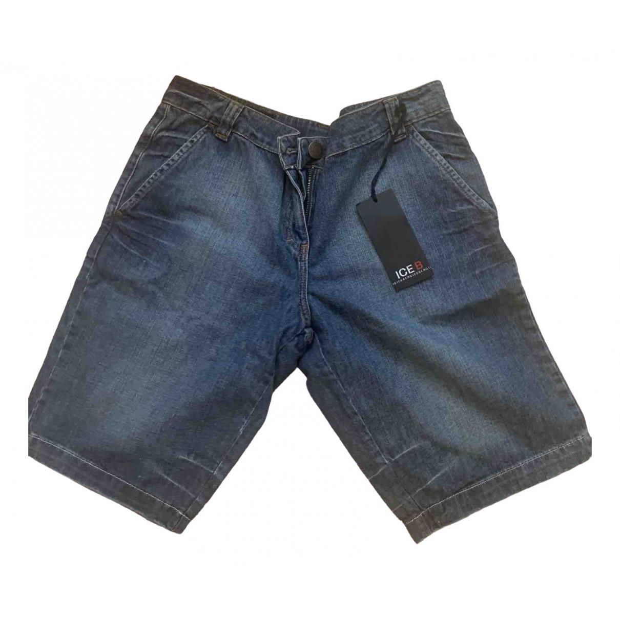 Iceberg \N Shorts in  Blau Denim - Jeans