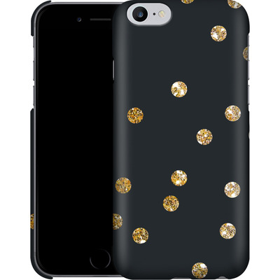 Apple iPhone 6 Plus Smartphone Huelle - Gold Dots von Khristian Howell