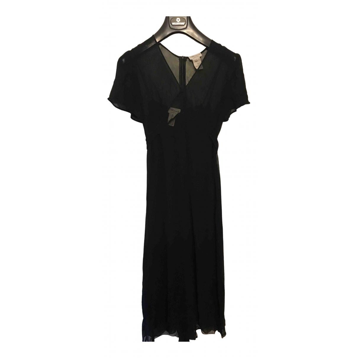 Blumarine \N Kleid in  Schwarz Synthetik