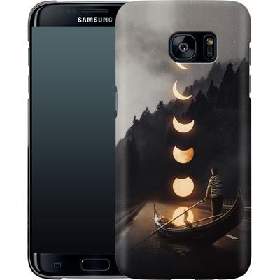 Samsung Galaxy S7 Edge Smartphone Huelle - Moon Ride von Enkel Dika