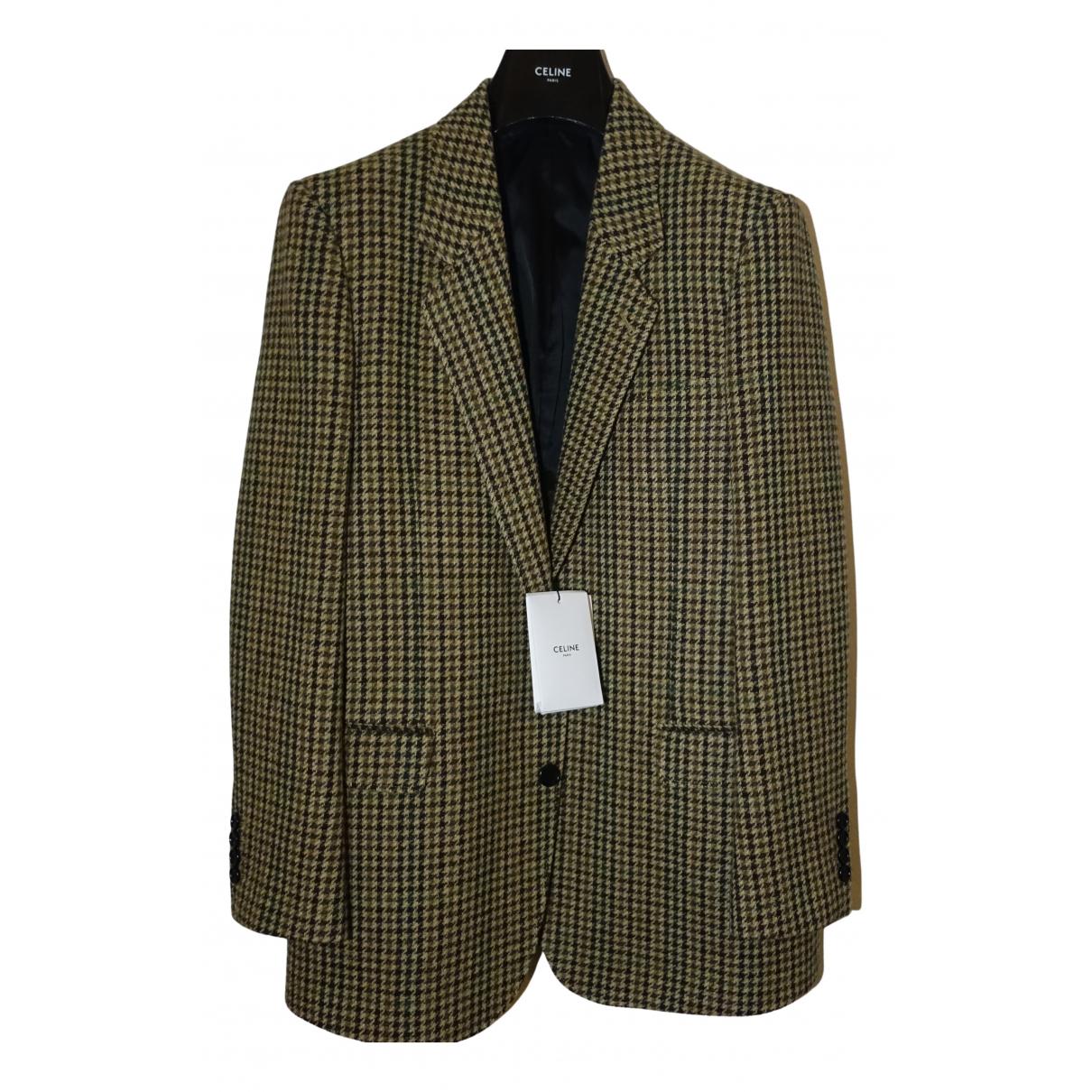 Celine \N Multicolour Wool jacket  for Men 48 FR