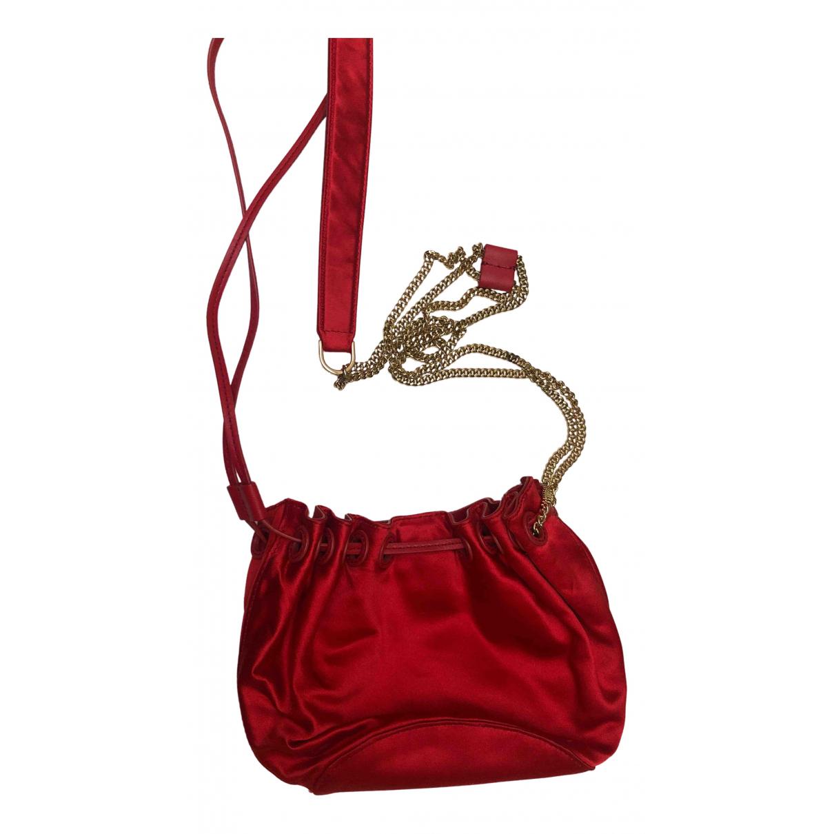 Diane Von Furstenberg N Red Silk handbag for Women N