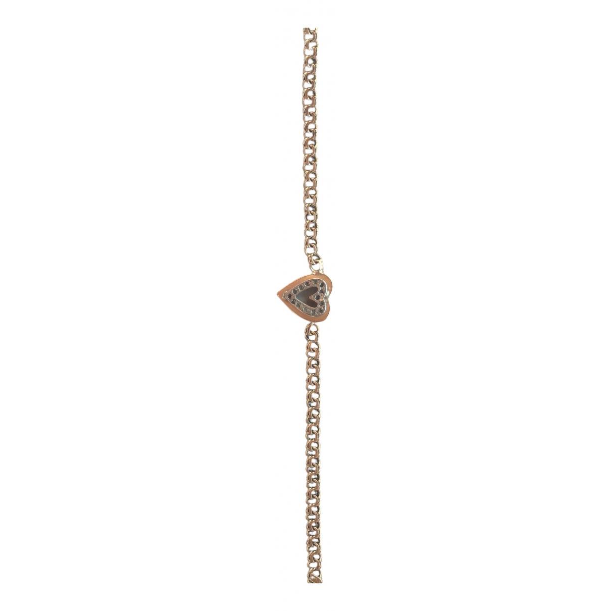 - Bracelet Motifs Coeurs pour femme en or jaune - dore