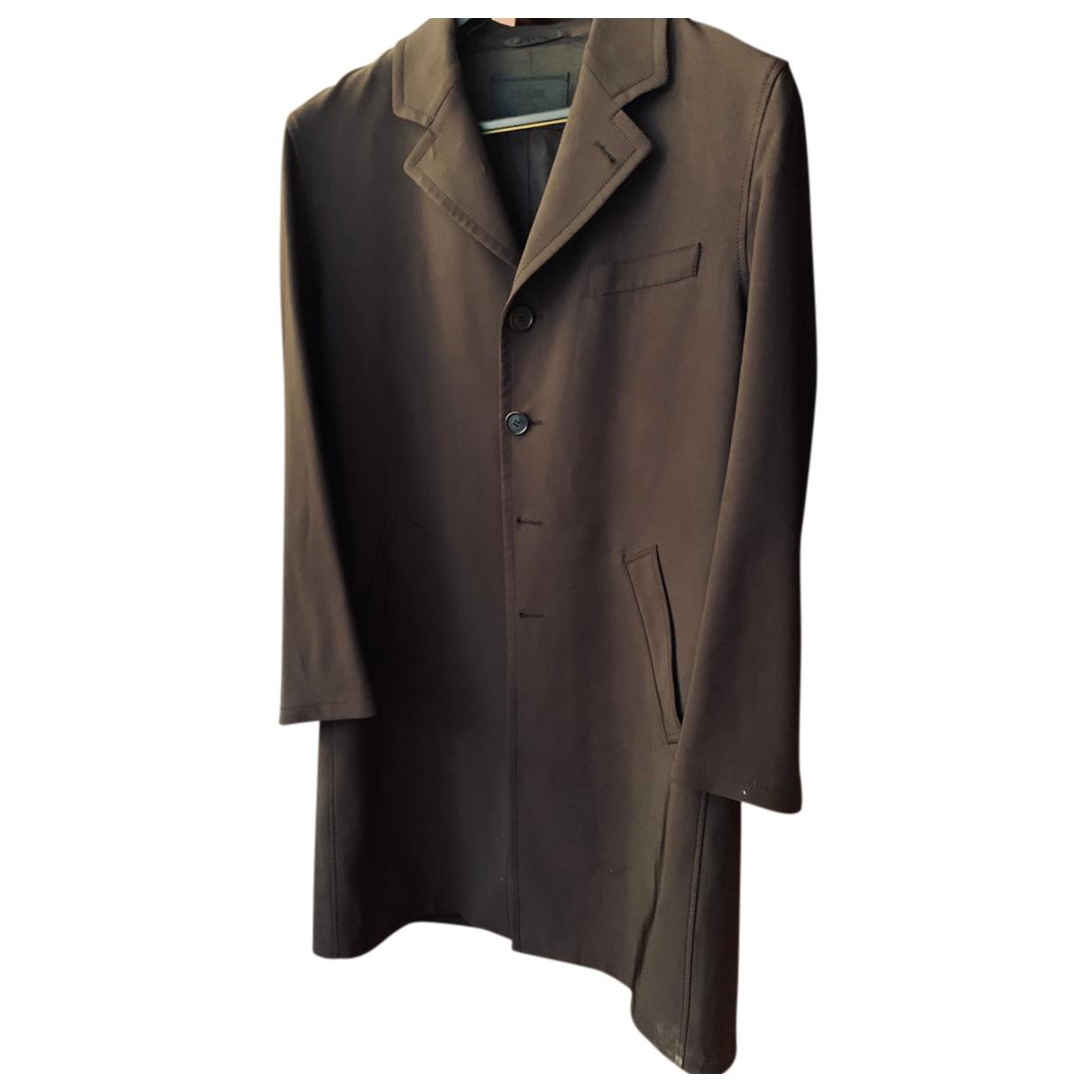 Prada - Manteau   pour homme - marron