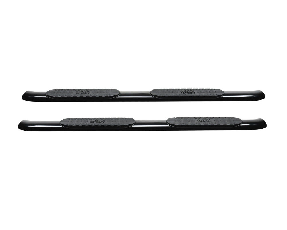 Westin Black PRO TRAXX 4 Oval Nerf Step Bars Ram 1500 Quad Cab 2019-2020