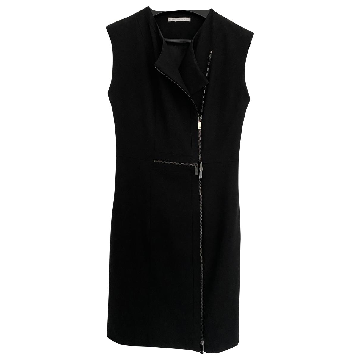 Porsche Design \N Kleid in  Schwarz Baumwolle - Elasthan