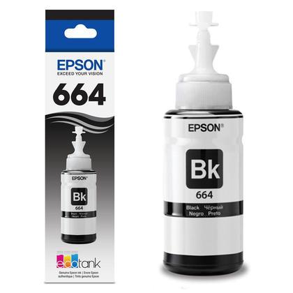 Epson T664120 Original Black Ink Cartridge