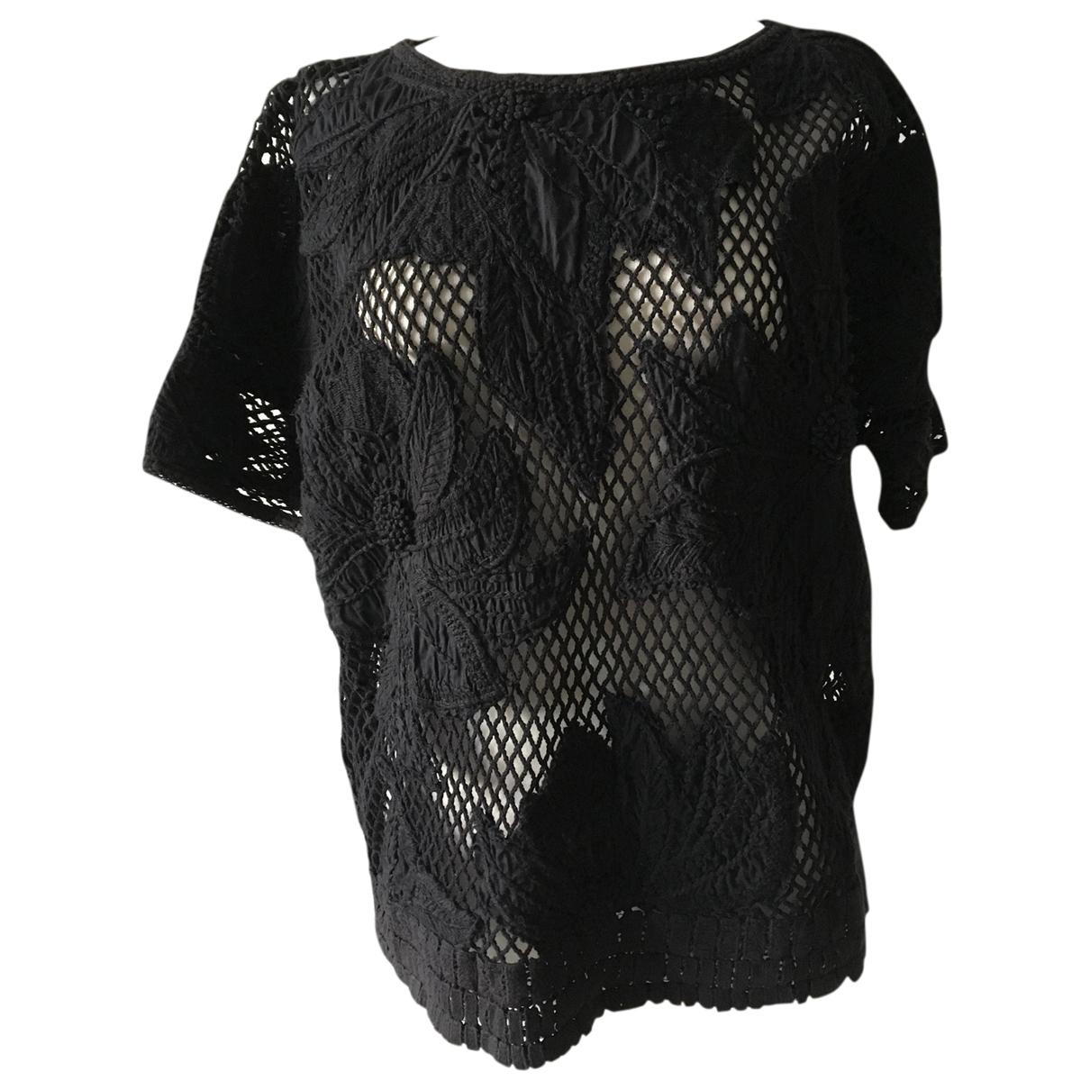 Isabel Marant Etoile \N Black Cotton  top for Women M