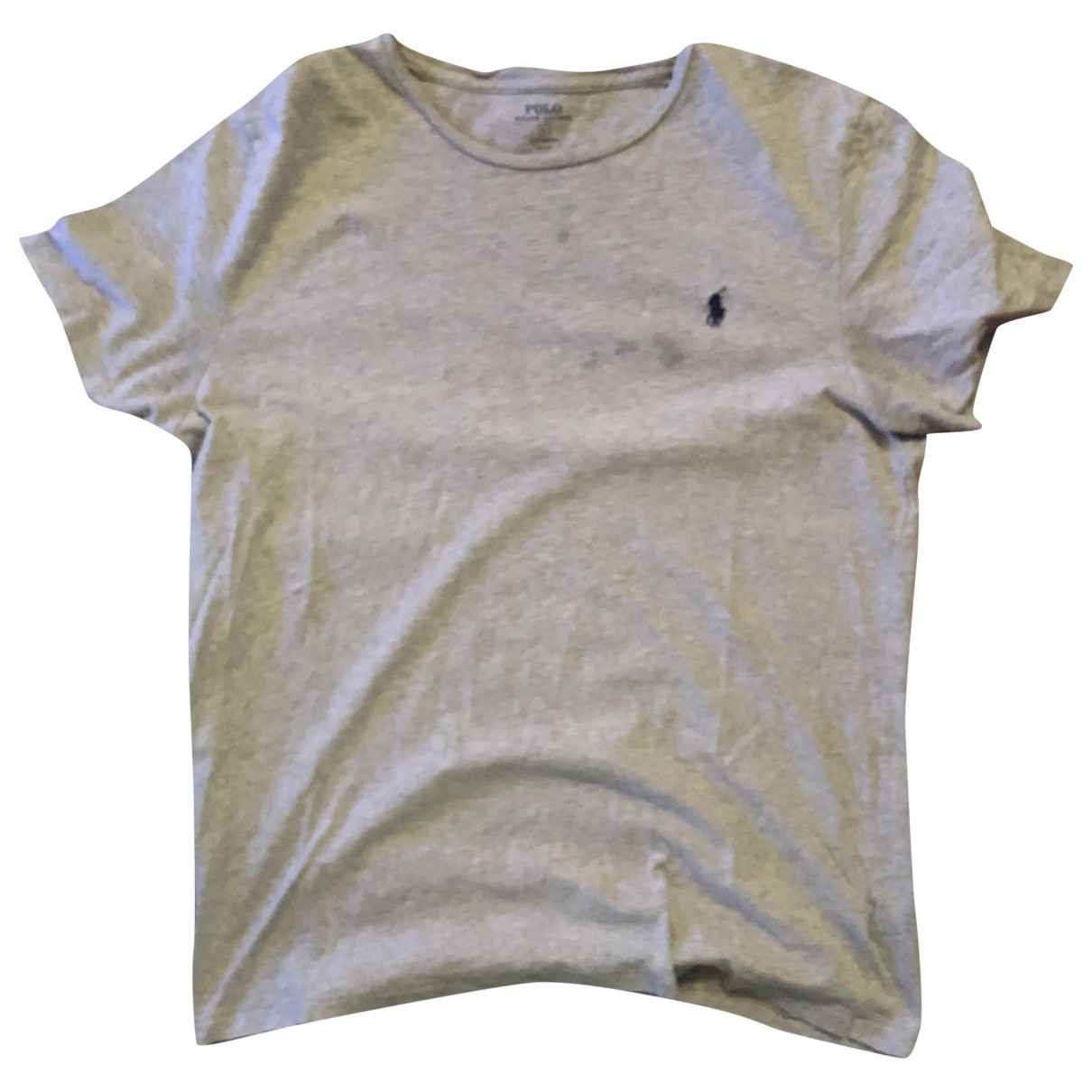 Polo Ralph Lauren \N Grey Cotton T-shirts for Men L International