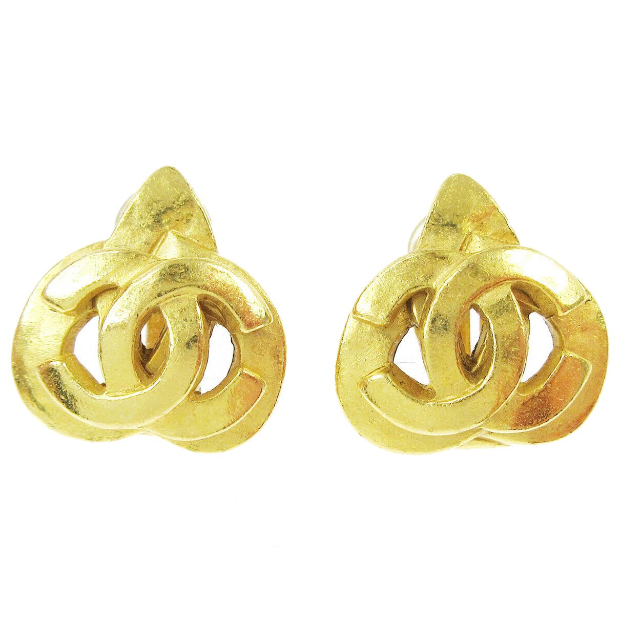 Chanel - Boucles d'oreilles   pour femme en autre