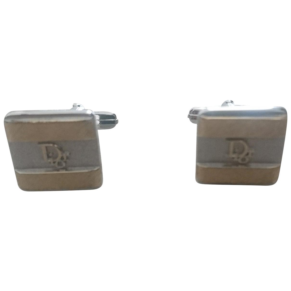 Dior \N Manschettenknopfe in  Silber Silber