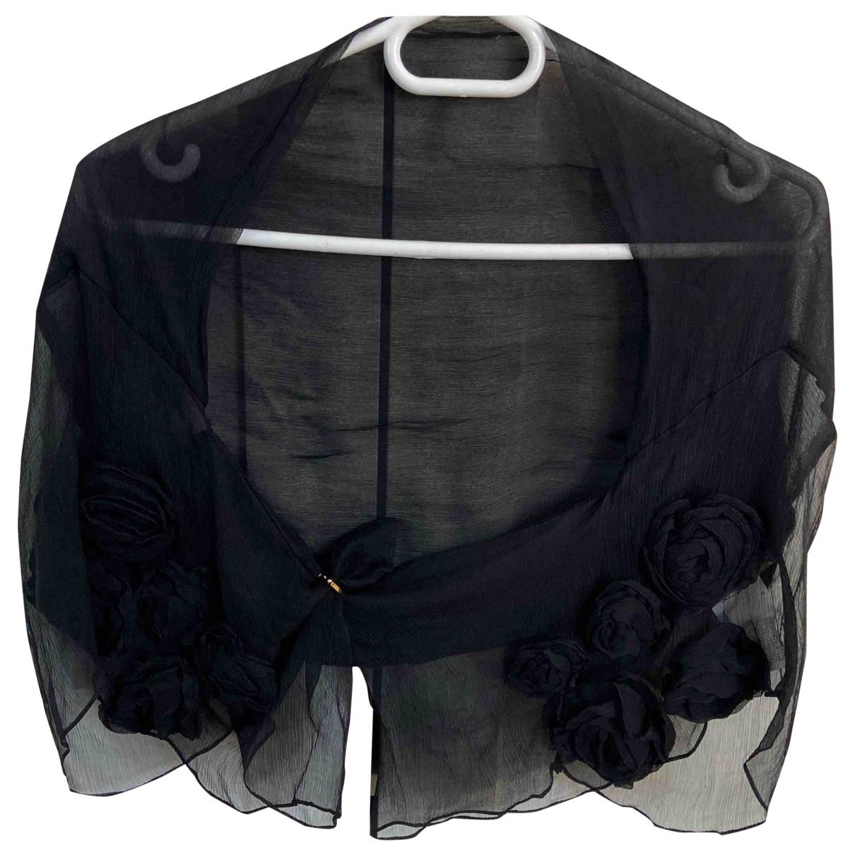 Roberto Cavalli - Top   pour femme en soie - noir