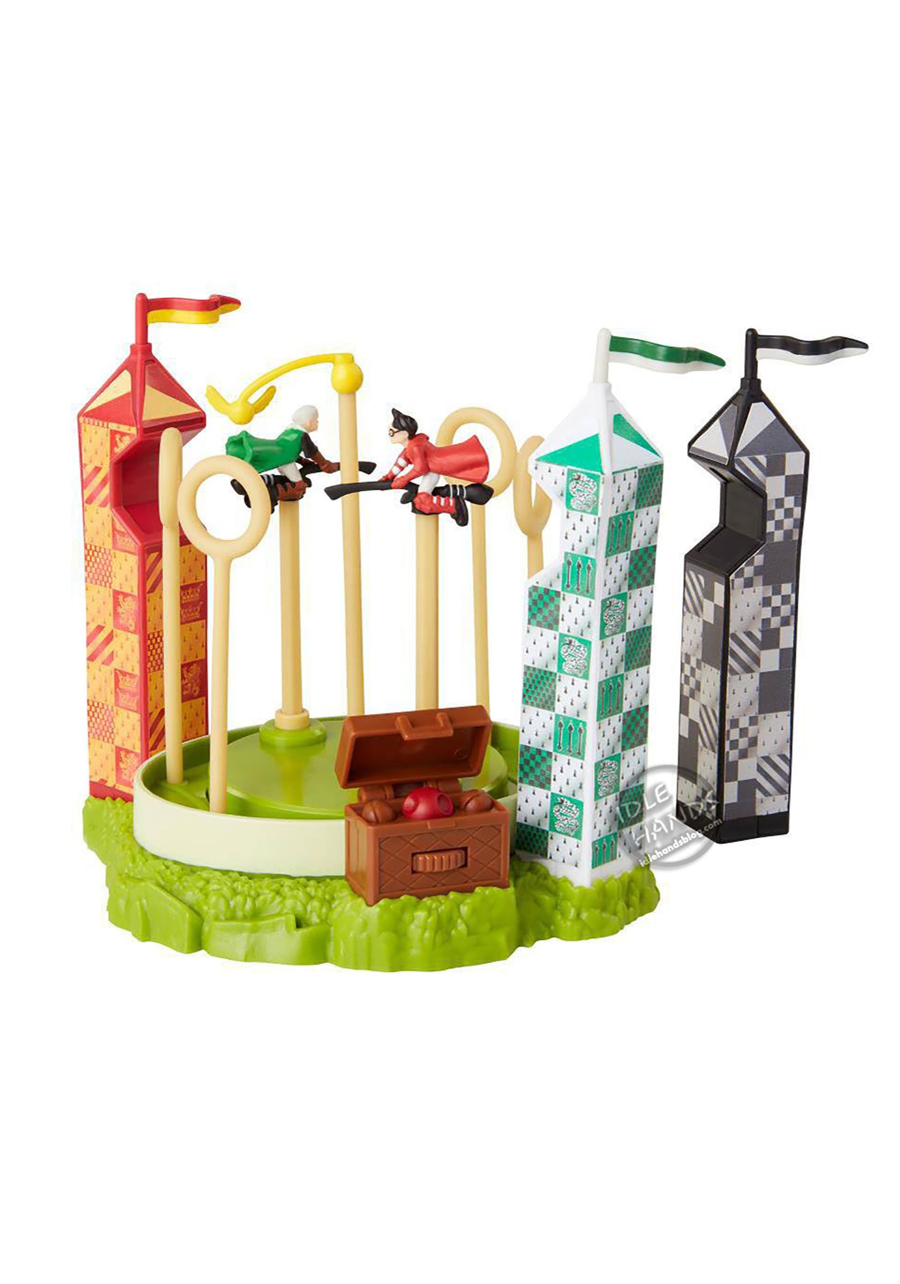 Gryffindor vs Slytherin Quidditch Arena Harry Potter Mini Playset