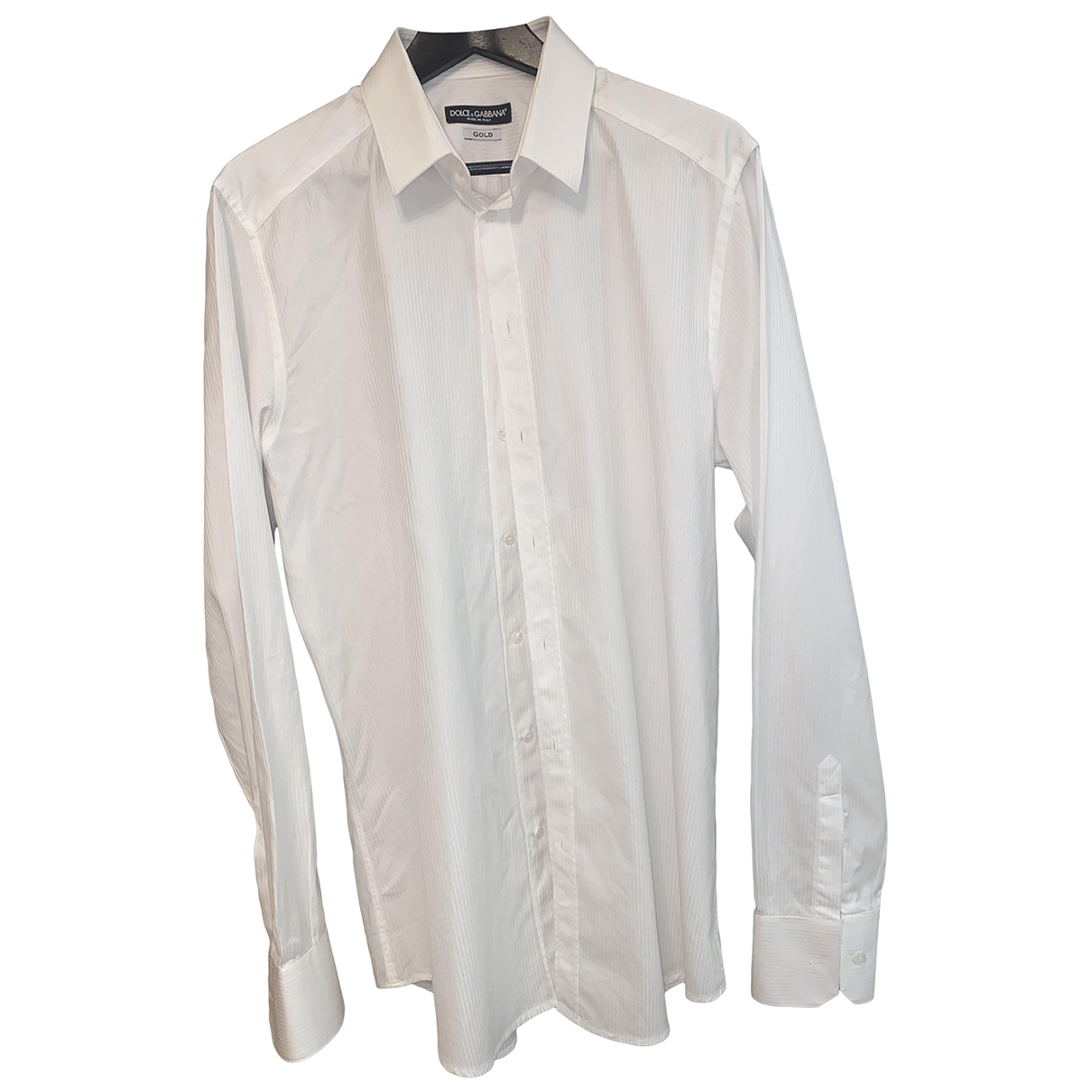 Dolce & Gabbana \N White Cotton Shirts for Men L International