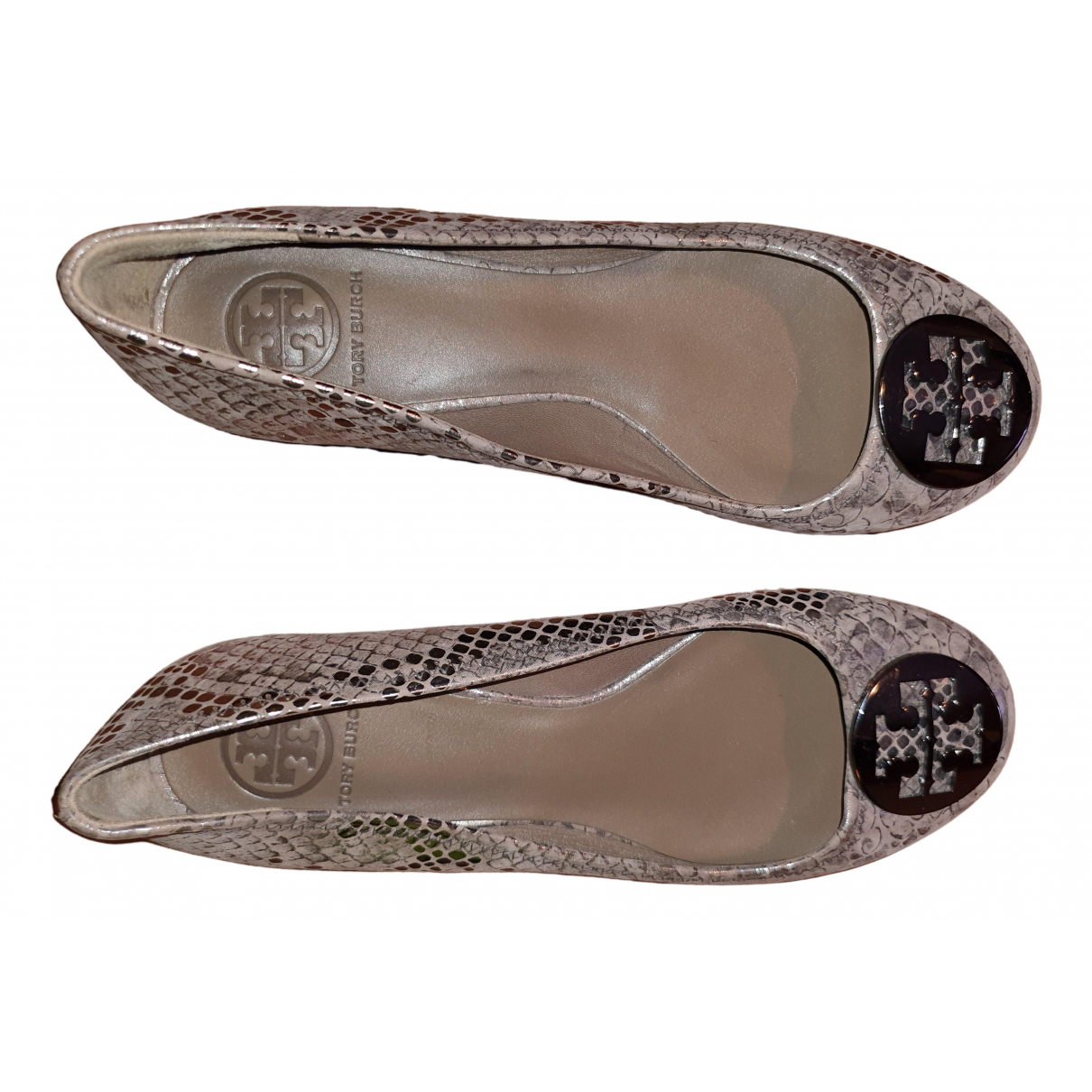 Tory Burch \N Brown Leather Ballet flats for Women 38 EU