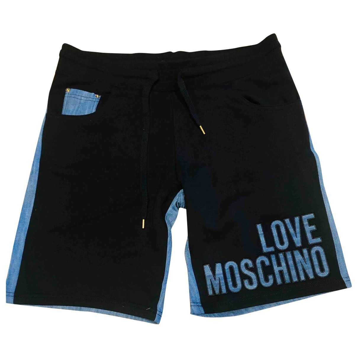 Moschino Love \N Blue Denim - Jeans Shorts for Men M International