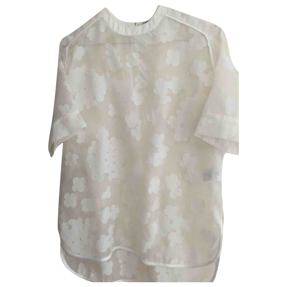 Carven \N White  top for Women 34 FR