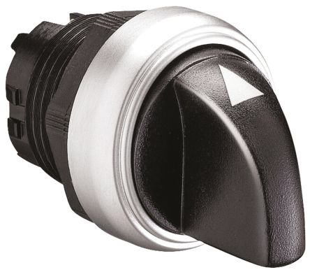 Lovato Platinum Selector Switch Head - 3 Position, Spring Return Right to Centre, 22mm cutout