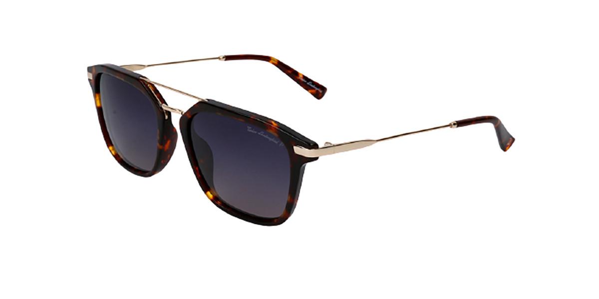 Tonino Lamborghini TL905S S02 Men's Sunglasses Tortoise Size 52