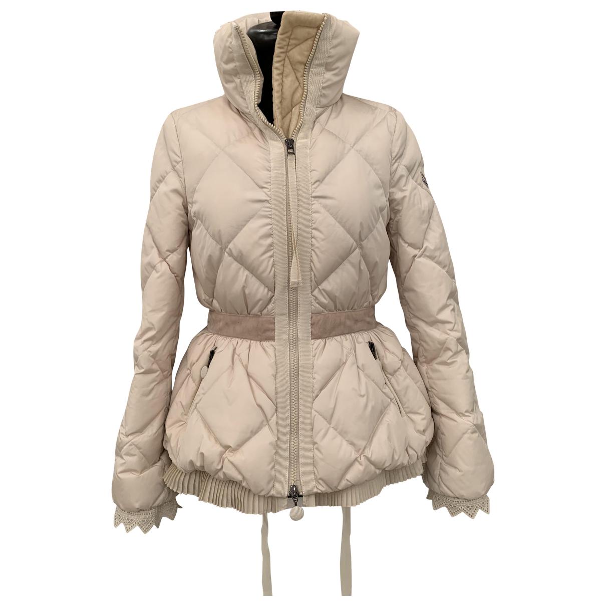 Moncler Classic Ecru jacket for Women 0 0-5