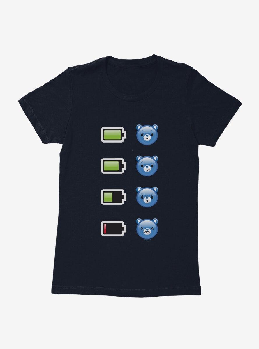 Care Bears Grumpy Bear Power Down Womens T-Shirt