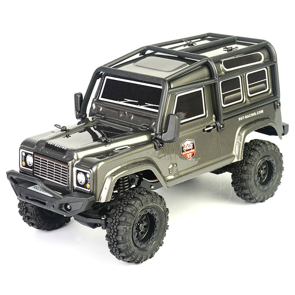 RGT 136240 V2 ADUENTURER 1/24 2.4G 4WD 15km/h MINI Off-road Rock Crawler Climbing Vehicle RC Car Model RTR - Grey