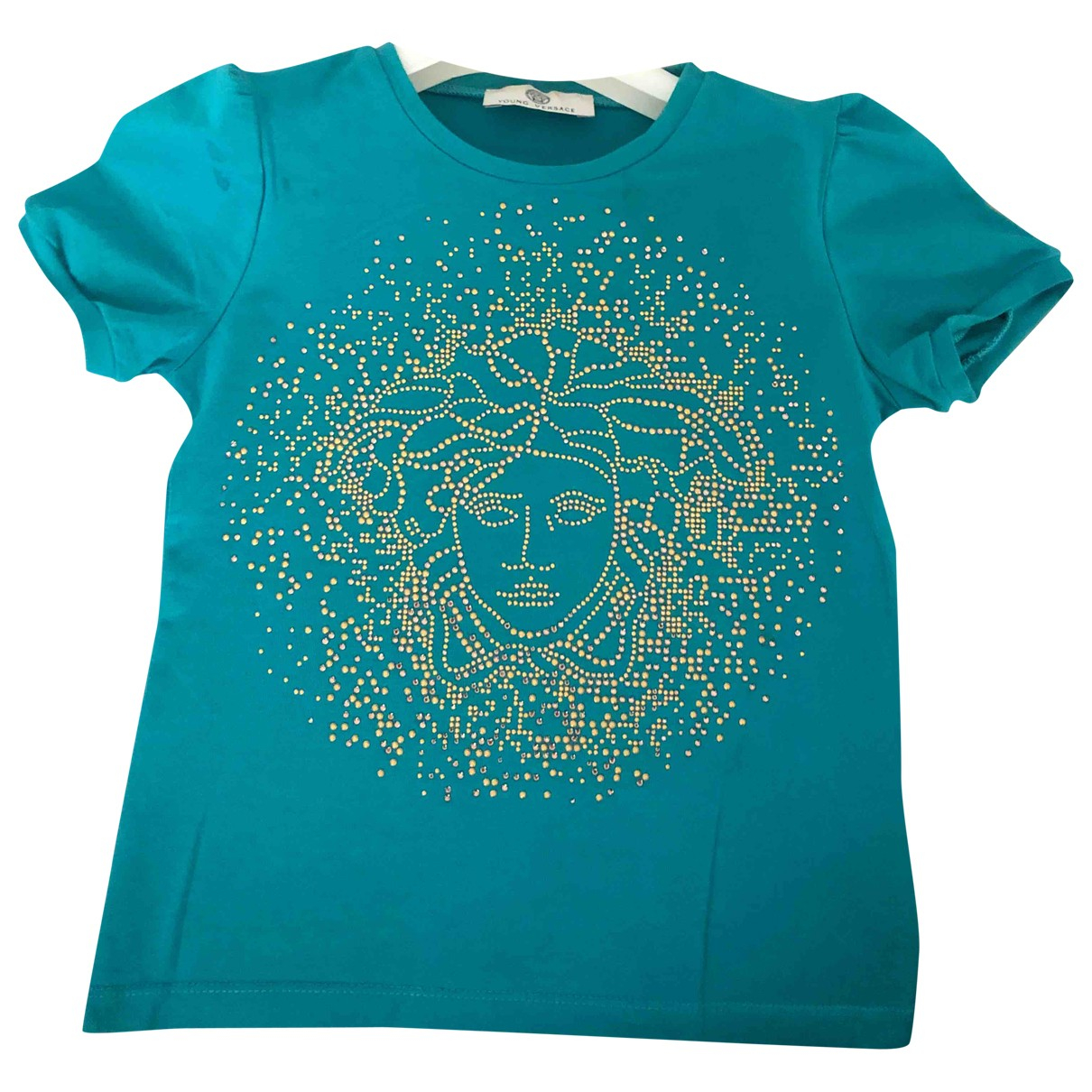 Versace \N Turquoise Cotton Outfits for Kids 6 years - up to 114cm FR