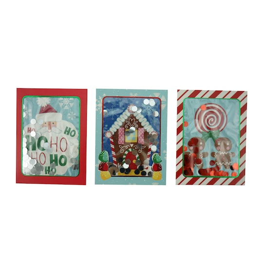 Santa, Gingerbread Friends & House Gift Card Holders ct By Michaels®