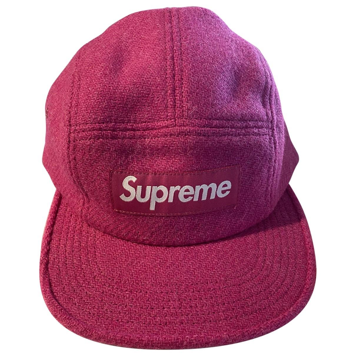 Supreme \N Hut, Muetzen in  Rosa Wolle