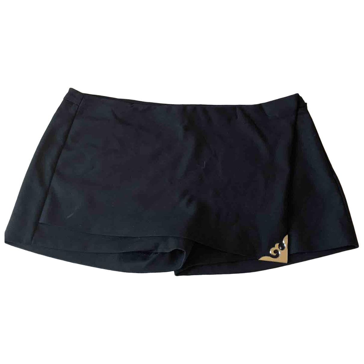 Versace \N Shorts in  Schwarz Baumwolle