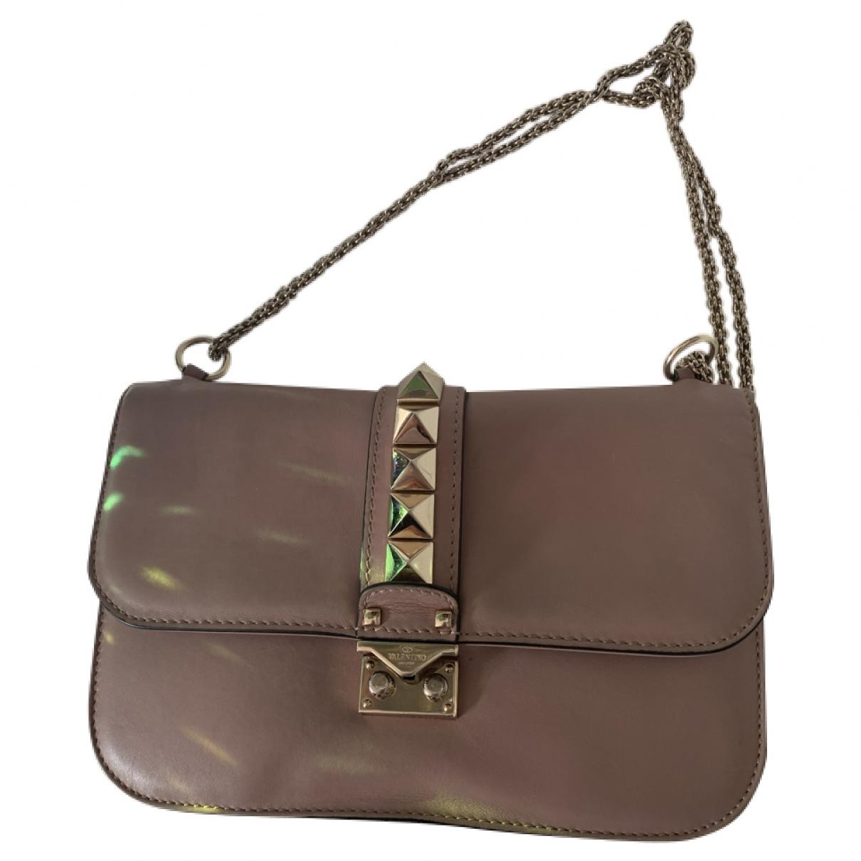 Valentino Garavani Glam Lock Leather handbag for Women \N