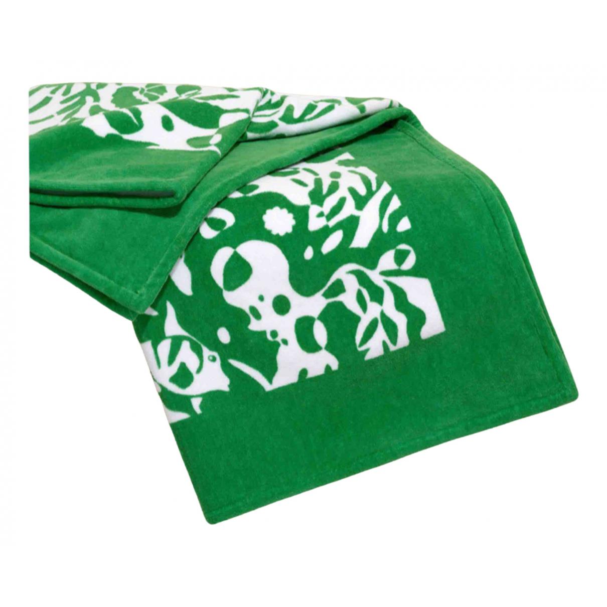 Eres - Linge de maison   pour lifestyle en coton - vert
