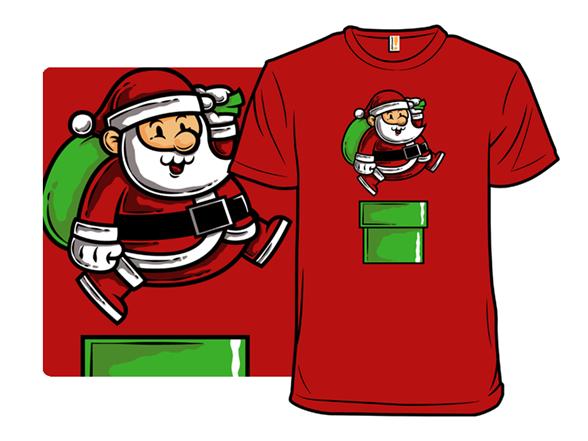 Santa Jumps T Shirt