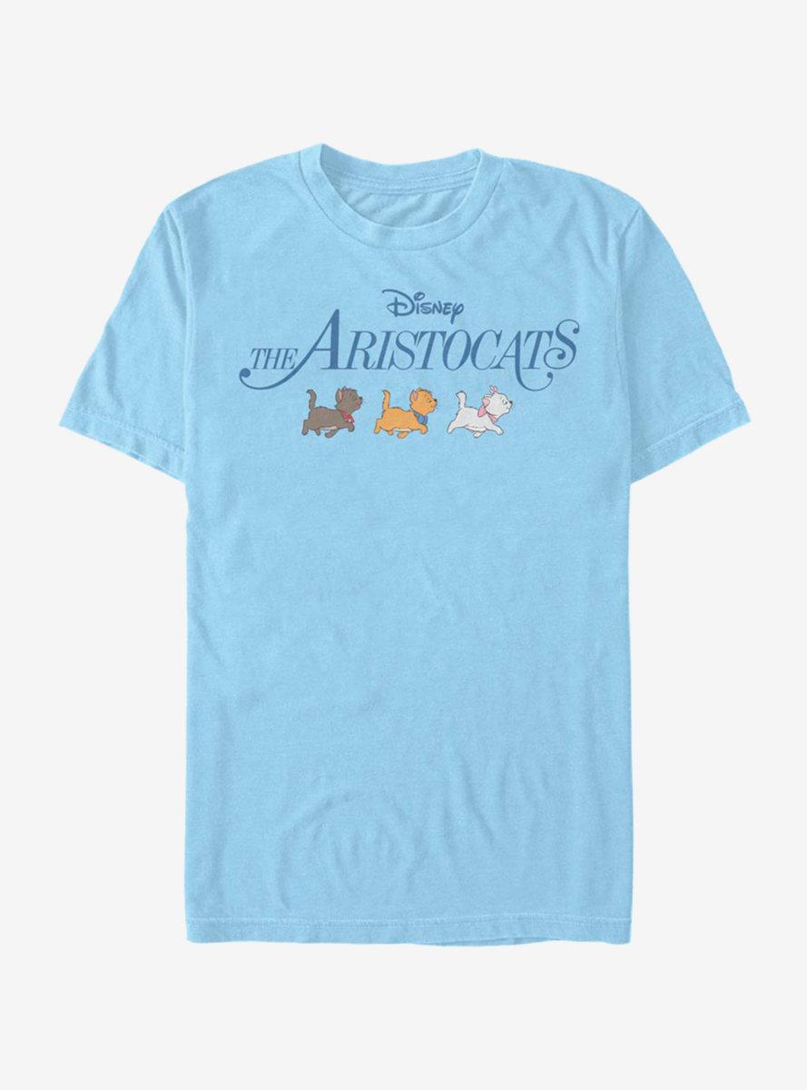 Disney The Aristocats Kitten Walk Logo T-Shirt