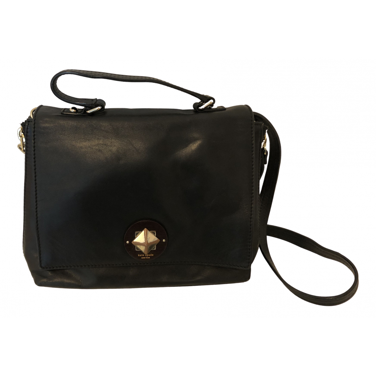 Kate Spade \N Navy Leather handbag for Women \N