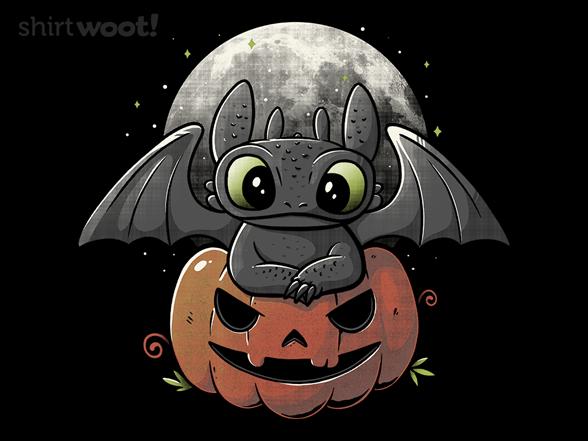 Spooky Dragon T Shirt