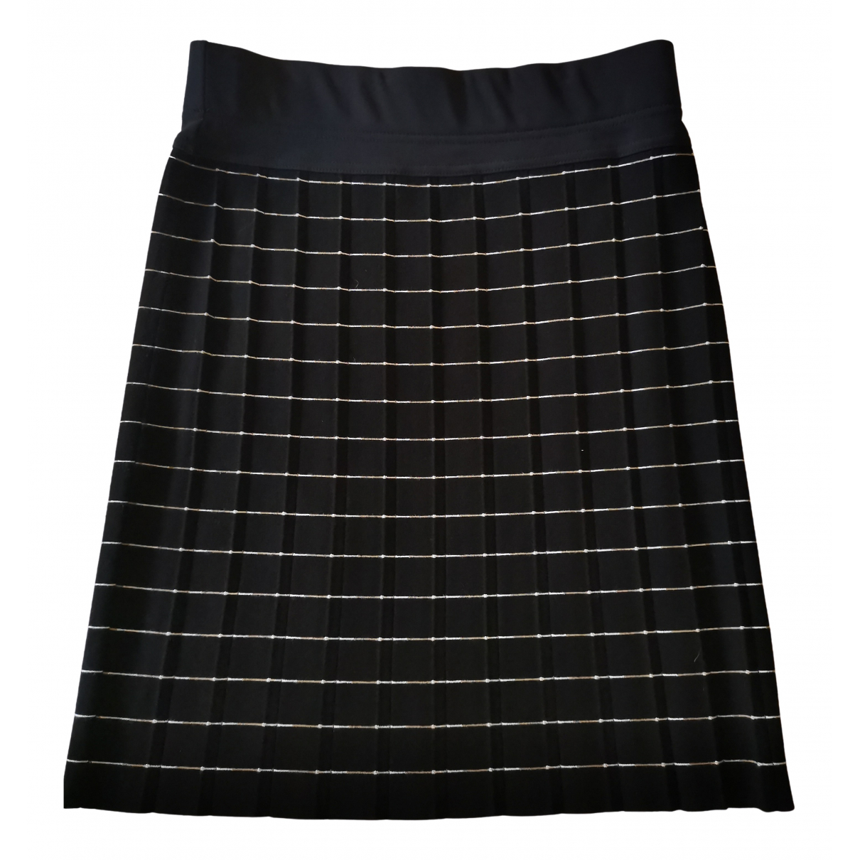 Non Signé / Unsigned \N Navy skirt for Women 44 IT
