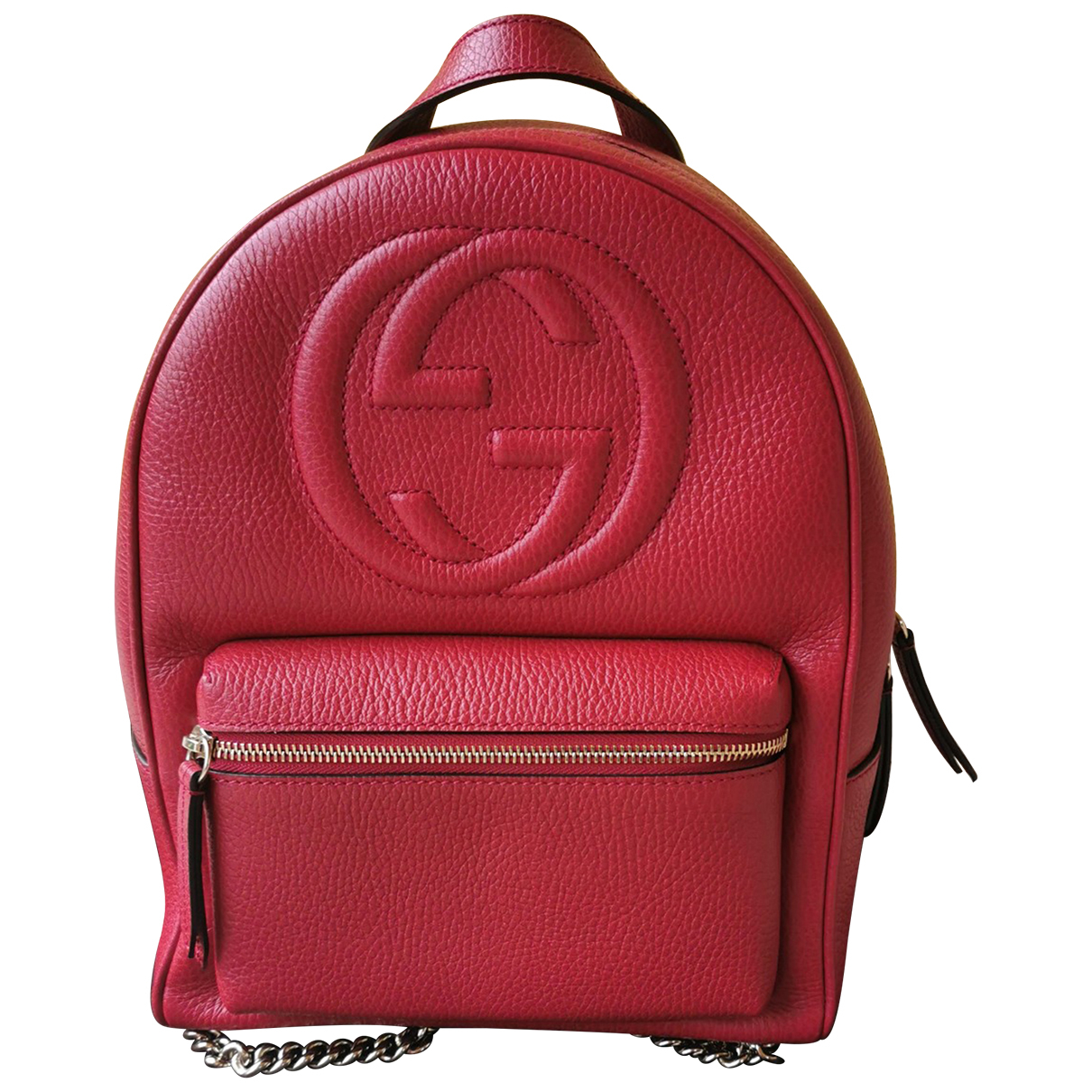 Gucci Soho Red Leather backpack for Women N