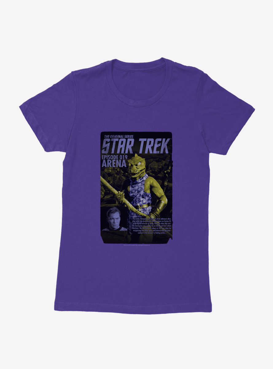 Star Trek Episode Arena Womens T-Shirt