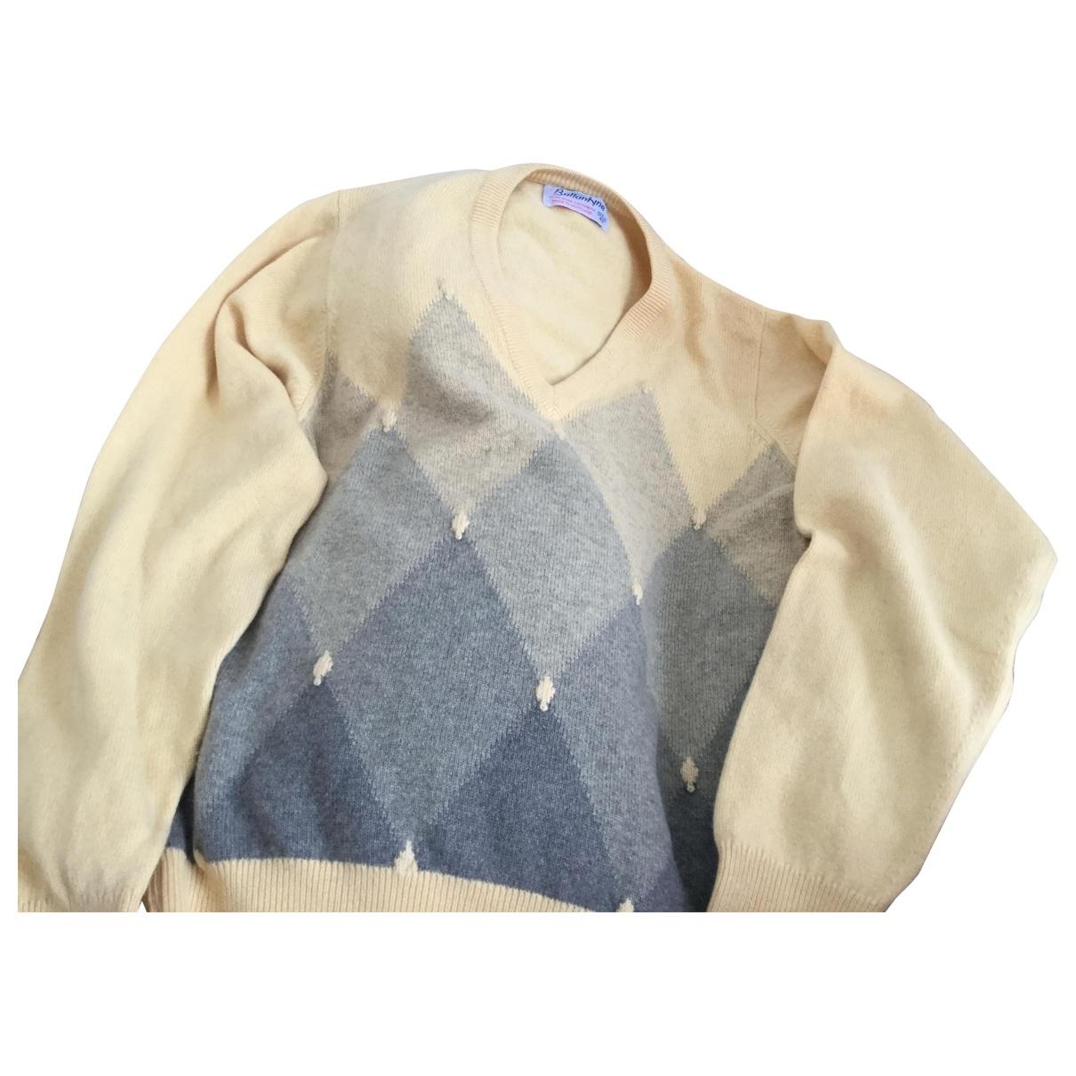 Ballantyne \N Pullover.Westen.Sweatshirts  in  Gelb Kaschmir