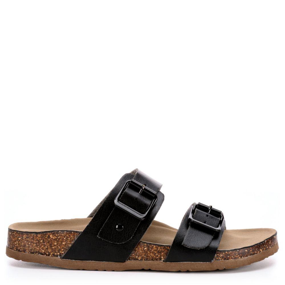 Madden Girl Womens Brando Footbed Slide Sandal