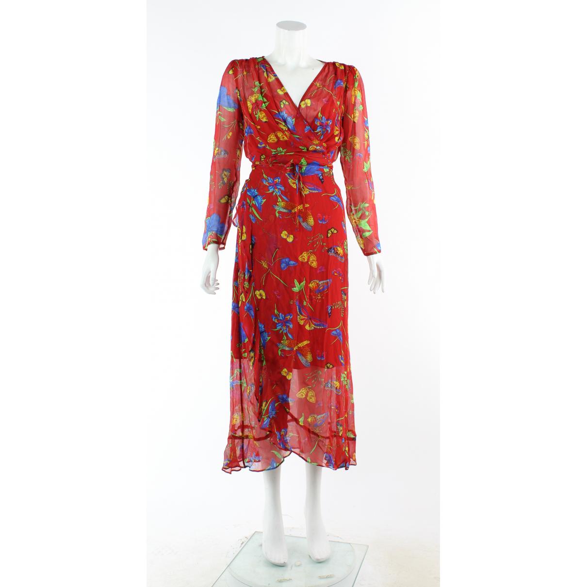 The Kooples \N Kleid in  Rot Leder