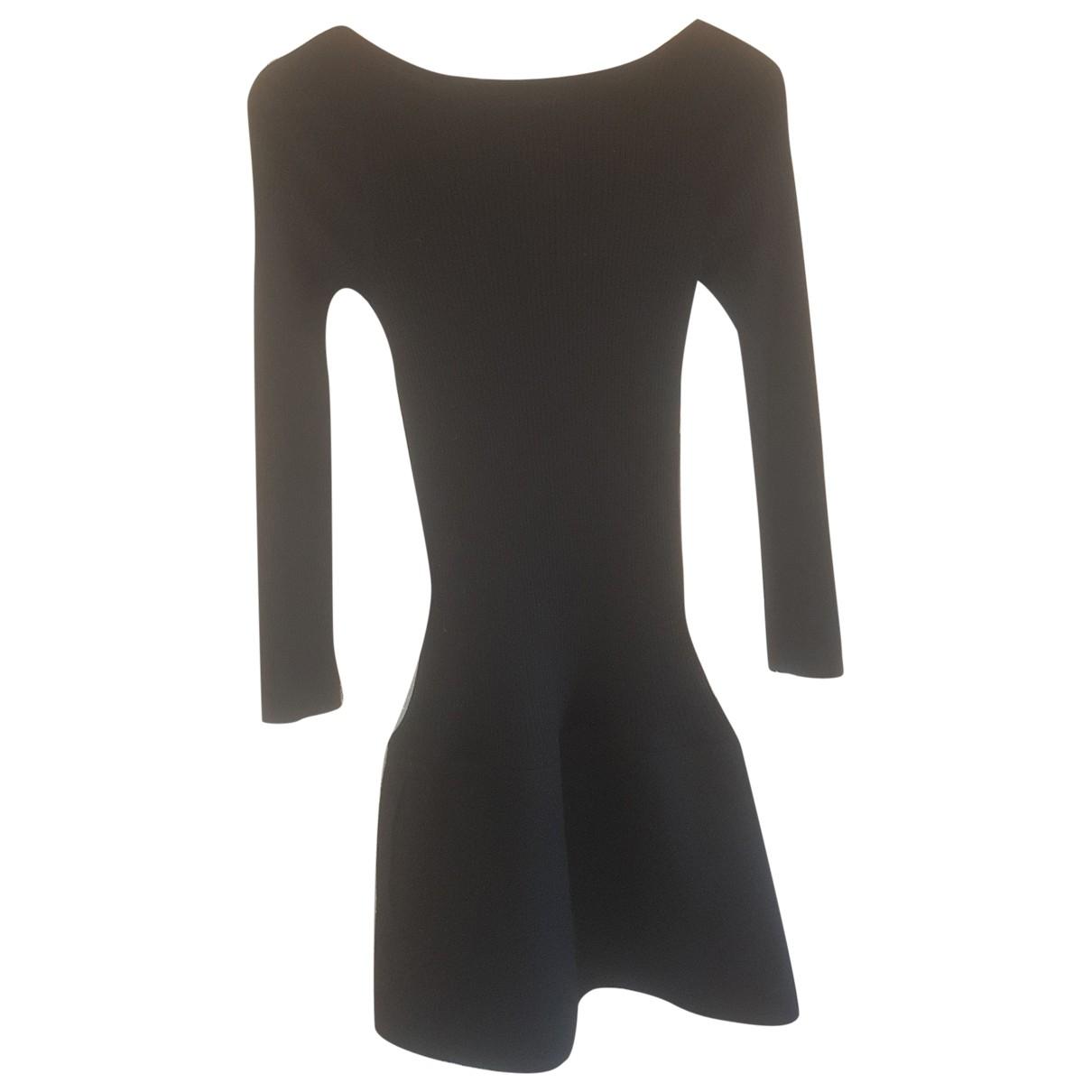 Paule Ka - Robe   pour femme en laine - noir