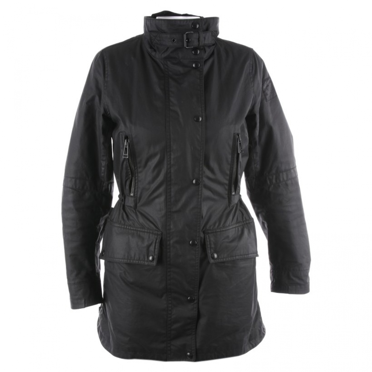 Belstaff \N Black Cotton jacket for Women 40 FR