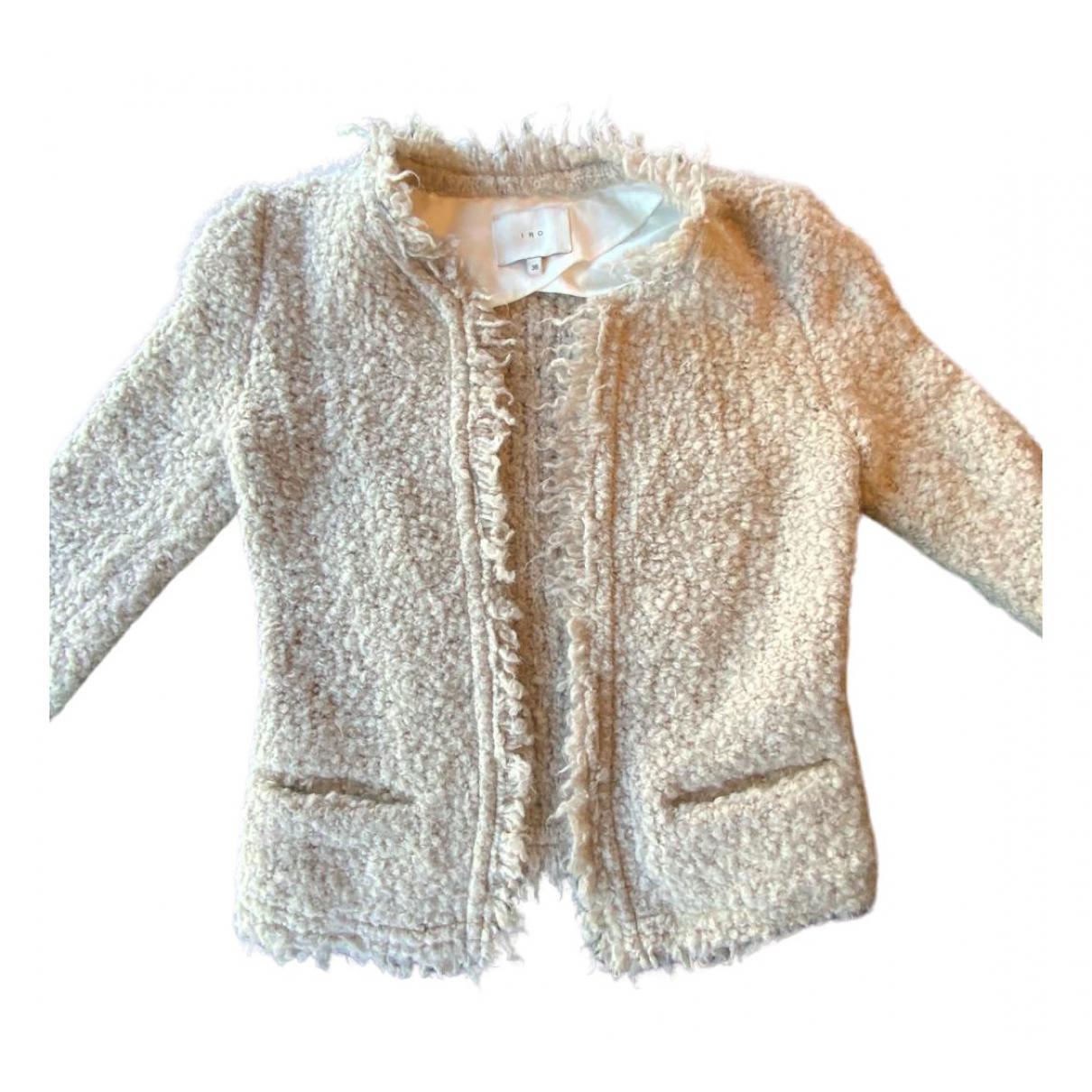 Iro Fall Winter 2019 Beige Cotton jacket for Women 36 FR